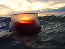 Candle In The Stormy Sea by Amy Dee