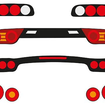 JDM Taillights  by SlimReaper35