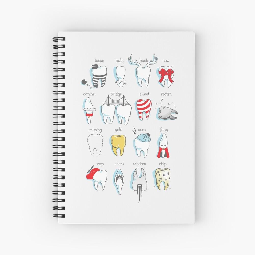 Dental Definitions Spiral Notebook