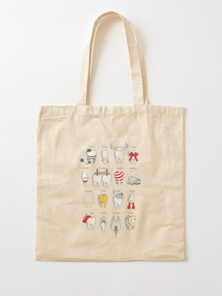 Alternate view of Dental Definitions Tote Bag