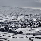 Reeth in the snow by Guy Carpenter