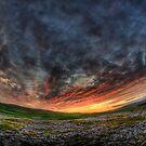 Sunset near Malham by Guy Carpenter