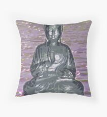 Sakyamuni on Water Throw Pillow