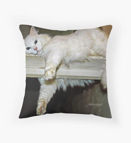 Mikey's Hangout Throw Pillow