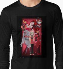 Hazbin Hotel Arrival Poster Design Long Sleeve T-Shirt