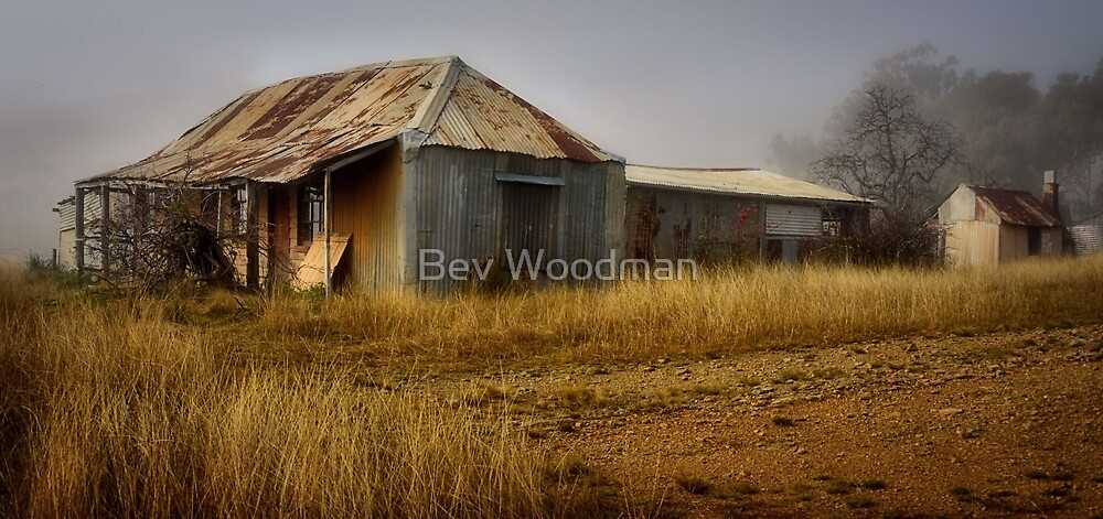 The Shack at the Turondale Turnoff NSW by Bev Woodman