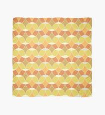 Retro Orange Tile Pattern  Scarf