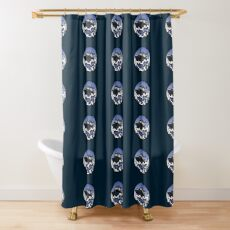 Wave Series - 32 TPSB Shower Curtain