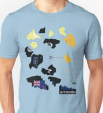 asteroiDs game tshirt by Ian RogerS 2009 T-Shirt