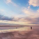 Lake Tyrrell Reflections by Peter Hammer