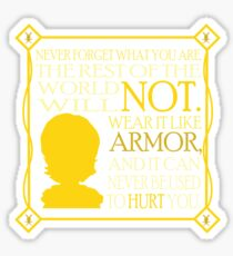 Tyrion's Quote Sticker