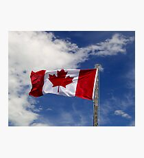 Proudly Canadian At The Bar U Photographic Print