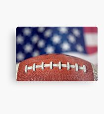 Super Bowl Ball Metal Print
