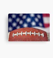 Super Bowl Ball Canvas Print