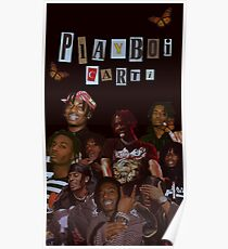 Playboi Carti by Ferbo Poster
