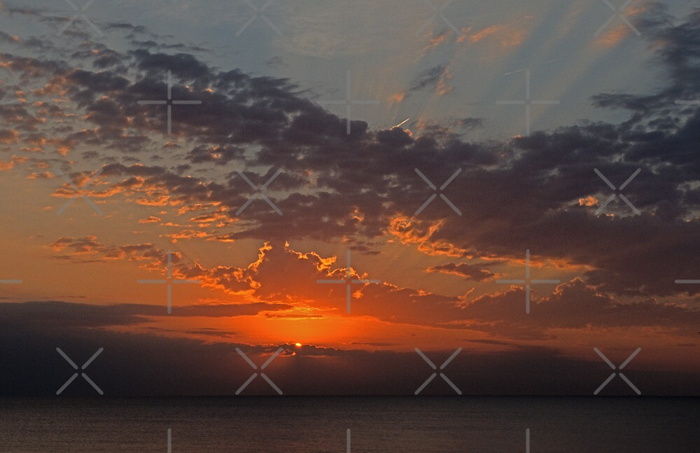 Huron Sunrise by Bill Spengler