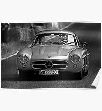 Mercedes-Benz 300 SL 1955 Poster