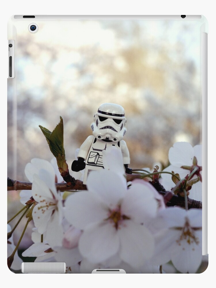 Lego Stormtrooper X Cherry Blossoms by Benjamin Lim