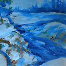 Blue Blanket by John Fish