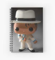 Smooth Criminal Spiral Notebook