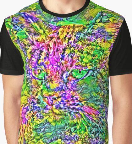 Artificial neural style Flower cat Graphic T-Shirt