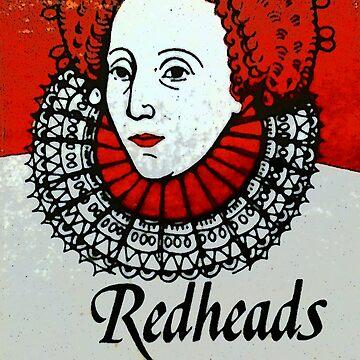 Redhead Matchbox labels - 1 by MrMinty