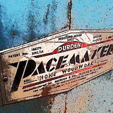 The PaceMaker signfor woodwork by MrMinty