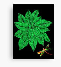 Nature in Green Canvas Print