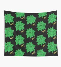 Nature in Green Wall Tapestry