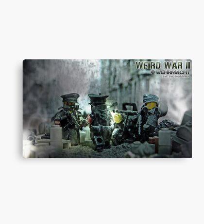 Lego Weird War rdv Canvas Print