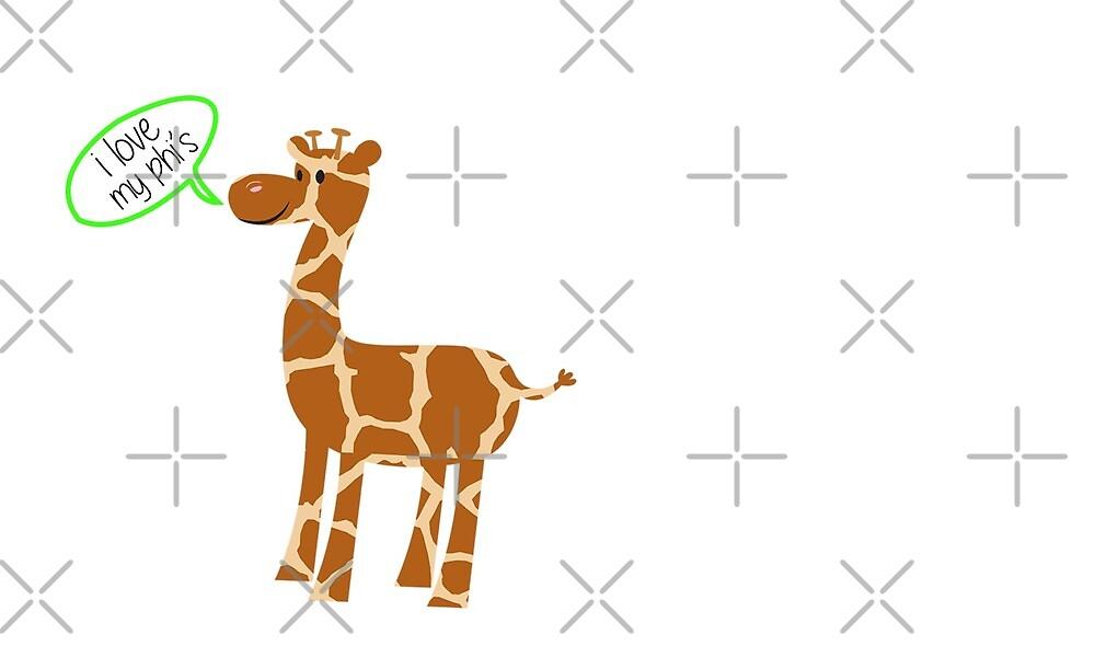 Giraffe Aephi by HannnahFraymann