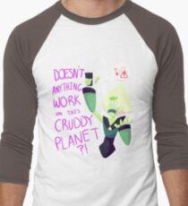 Camiseta ¾ bicolor para hombre Sin palabras de Wifi Peridoto
