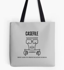 Casefile True Crime – Descendents Tribute (Dark) Tote Bag