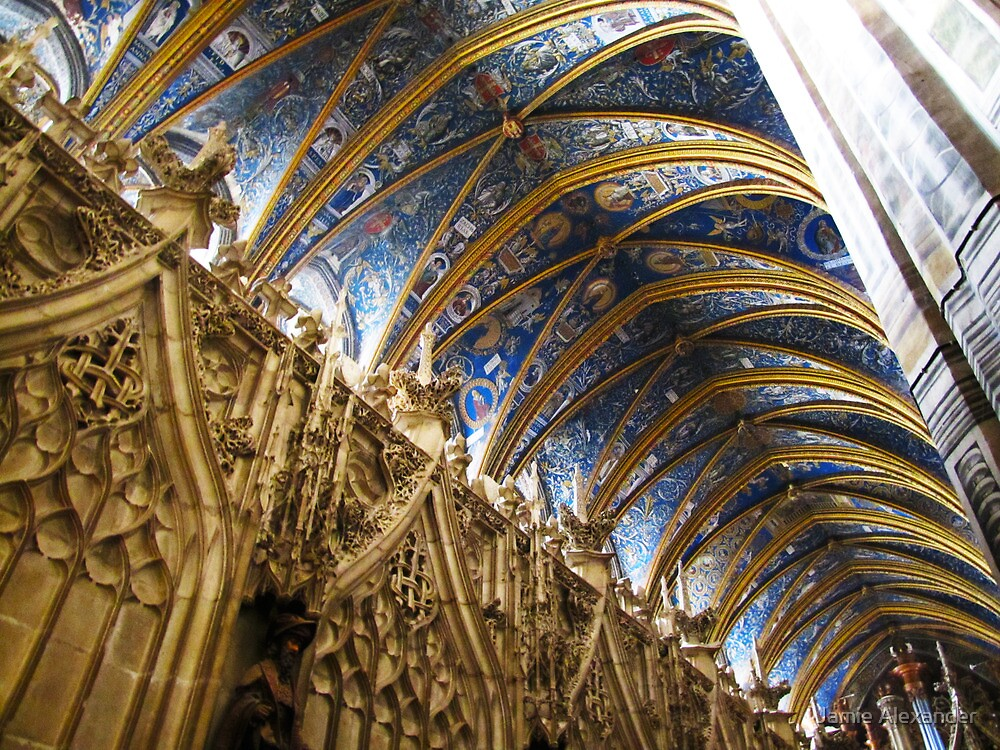 Quot Blue Ceiling Cathedral Of Albi France Quot By Jamie