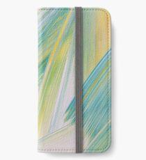 Brushstrokes No 2  iPhone Wallet/Case/Skin