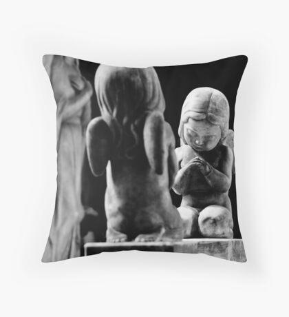 Little Angels Throw Pillow