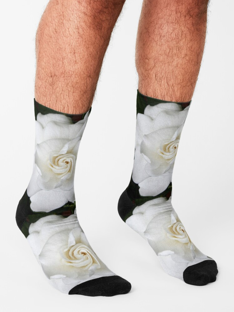 Alternate view of Romantic Night ~ Scent of Gardenias Socks