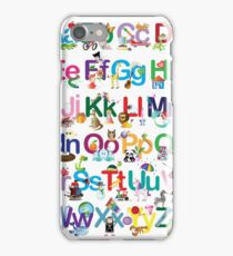 Alphabet for kids iPhone Case/Skin