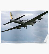 B17 Liberty Belle Poster