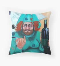Through the Fog It Came Throw Pillow