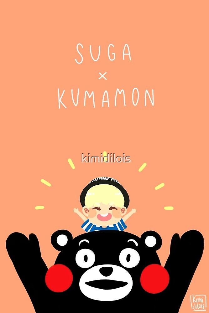 Suga x Kumamon by kimidilois