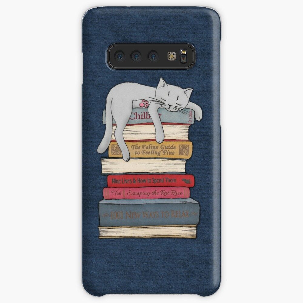 How to Chill Like a Cat Case & Skin for Samsung Galaxy