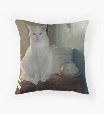 Impressionistic Little Lucy Throw Pillow