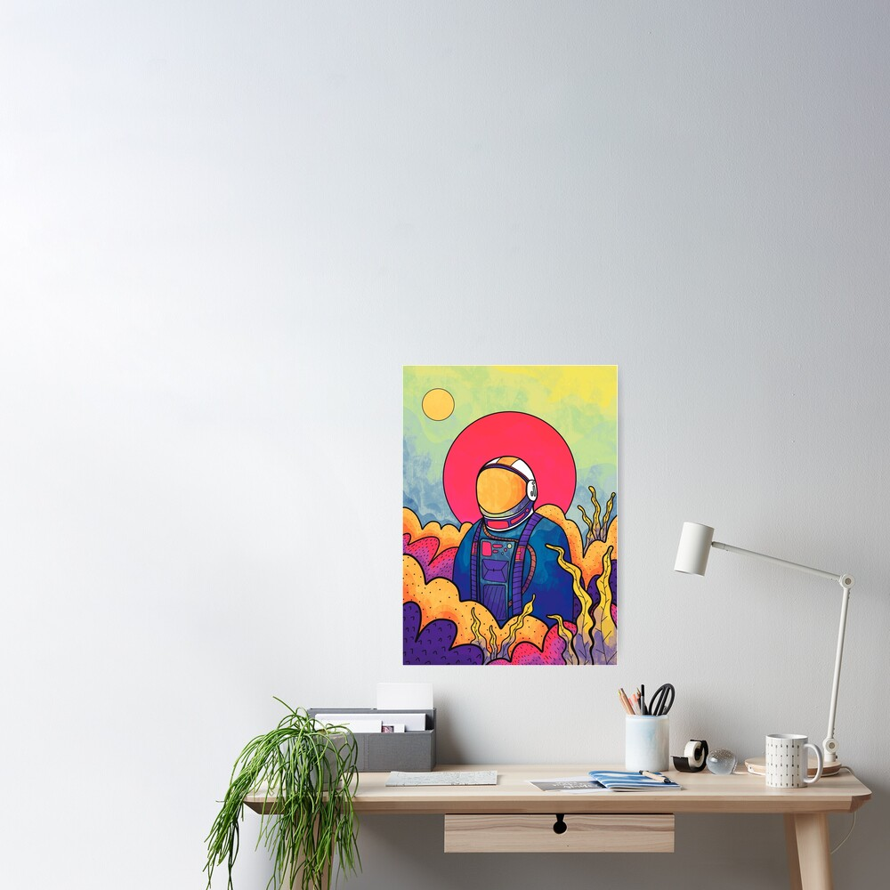 The planet explorer Poster