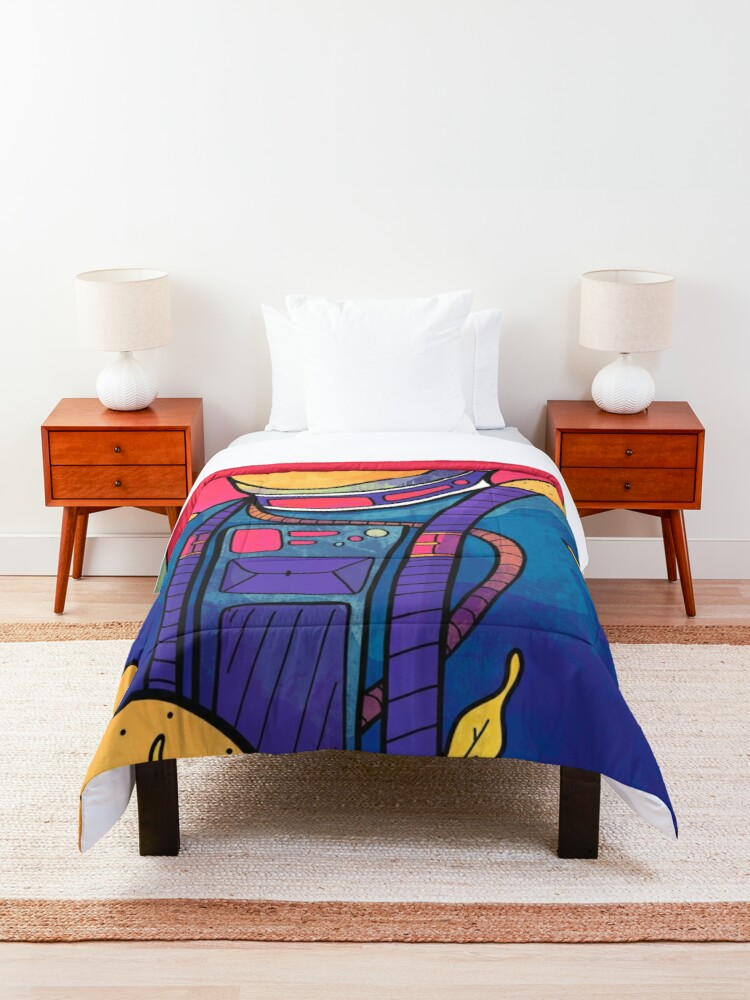 Alternate view of The planet explorer Comforter