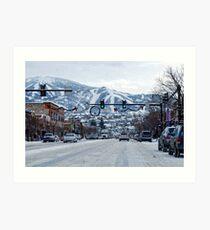 Steamboat Springs Colorado Art Print