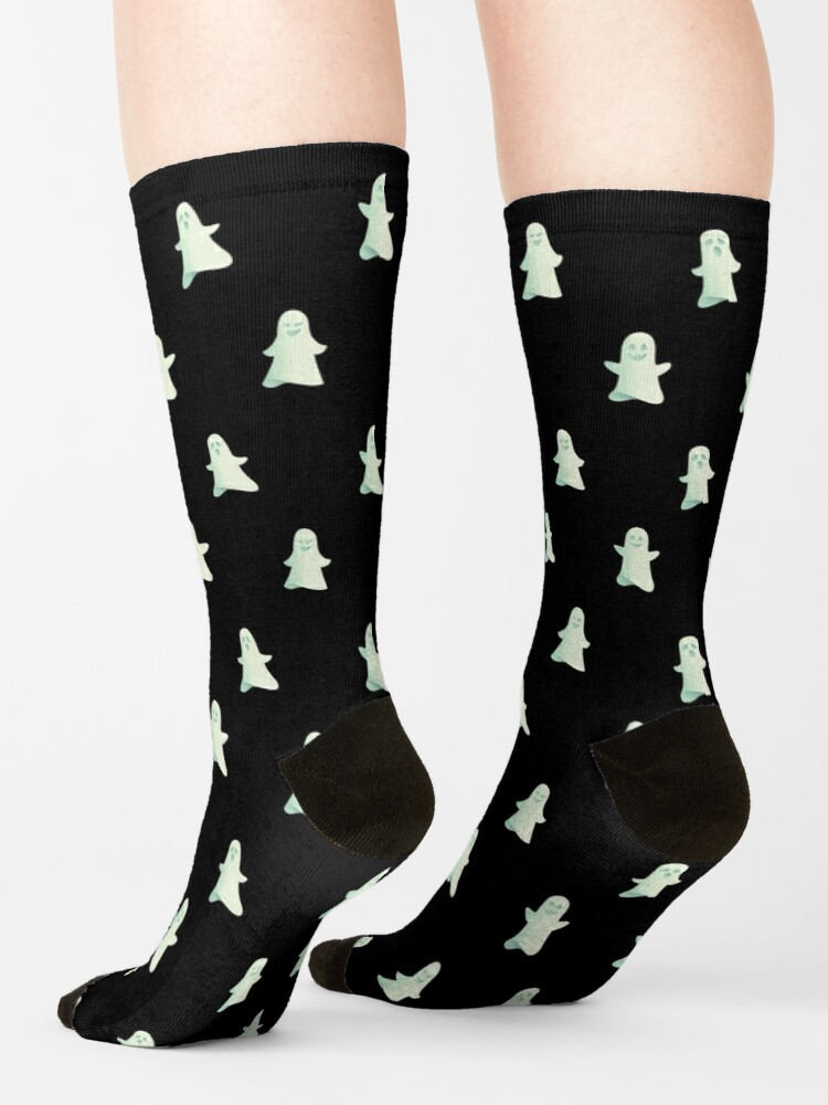 Alternate view of Spooky nights - Ghosts are coming Socks