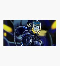 Inside the Gypsy Danger Photographic Print