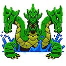 Pixel Hydra by theknobbywood
