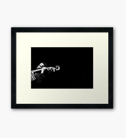 Empty Space (Belden Bullock) Framed Print